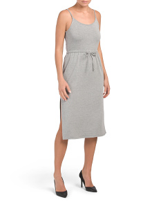 Juniors Heather Knit Midi Dress