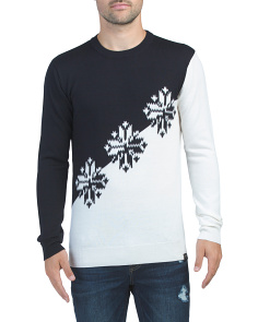 Wool Lightweight Crewneck Pullover Sweater