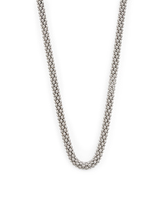 Made In Italy Sterling Silver Coreana Chain Necklace