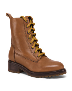 Leather Mid Hiker Boots