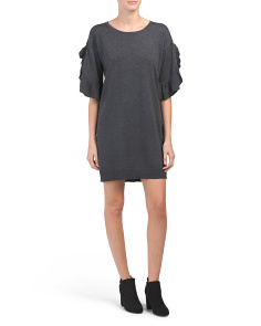 Dolman Sleeve Sweater Dress