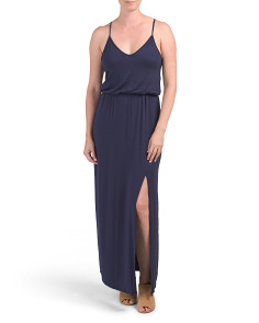 Juniors Knit Maxi Dress