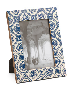 5x7 Pattern Embossed Asher Frame