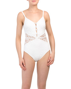 Shalimar Lacey One-piece Swimsuit