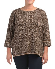 Plus Leopard Sweater