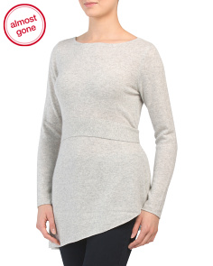 Cashmere Two Way Pullover Sweater