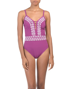 Love N Lace One-piece Swimsuit