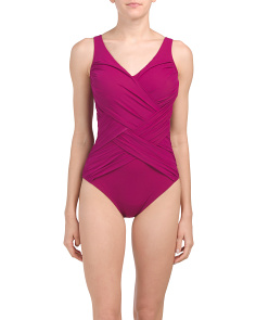 Lattice One-piece Swimsuit