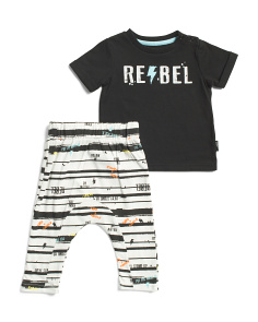 Baby Boys Rebel Pant Set