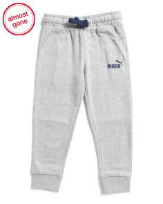 Little Boys Number One Pieced Joggers