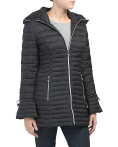 Lightweight Long Packable Coat