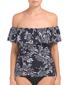 Nantucket Ruffle Tankini Top
