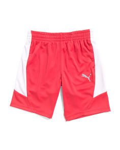 Little Boys Color Block Performance Shorts