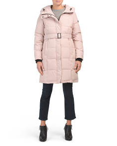 Belted Heavyweight Coat