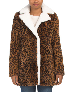 Animal Print Woobie Jacket