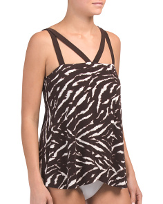 Michelle On Safari Tankini Top