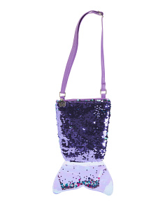 Flip Sequin Mermaid Tail Crossbody