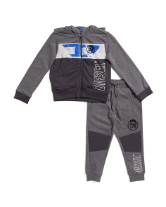 Little Boys 2pc Hoodie And Pant Set