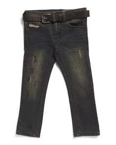 Little Boys Acid Wash Jeans