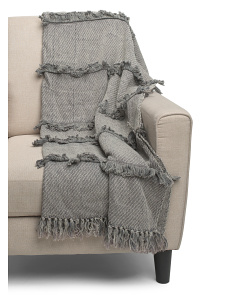 Cotton Stonewash Throw