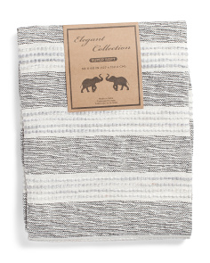 Texture Stripe Throw