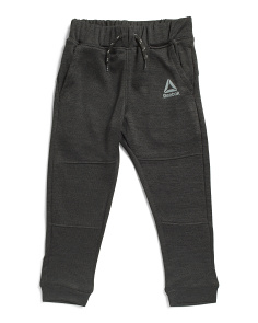 Little Boys Blend Tech Joggers