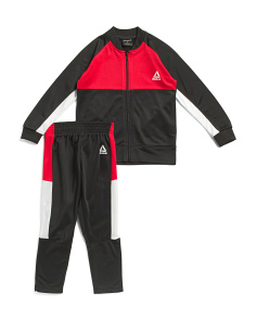 Little Boys 2pc Essentials Track Suit Set