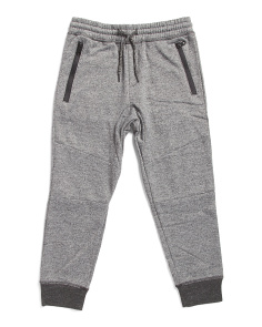 Little Boys Marled French Terry Joggers