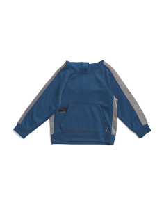 Little Boys Color Block Hoodie
