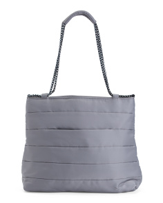 Maven Quilted Shoulder Bag
