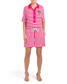 Mixed Striped Romper