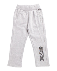 Little Boys Tapered Fleece Joggers