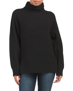 Wool And Cashmere Pate Sweater