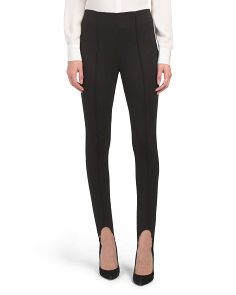 Pull On Ponte Stirrup Leggings