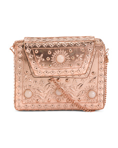 Elmie Pressed Metal Clutch