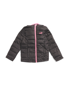 Big Girls Packable Jacket