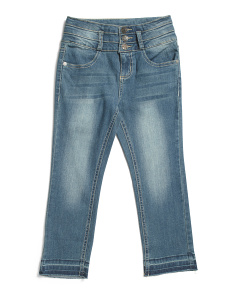 Big Girls Stacked Waist Jeans
