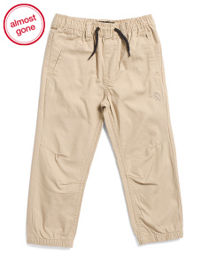 Little Boys Ripstop Joggers