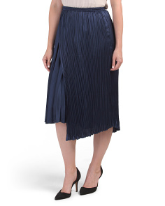 Mixed Pleat Skirt