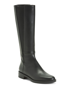 Tall Shaft Leather Boots