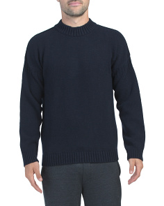 Fisherman Wool Blend Sweater