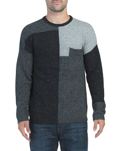 Patchwork Donegal Sweater