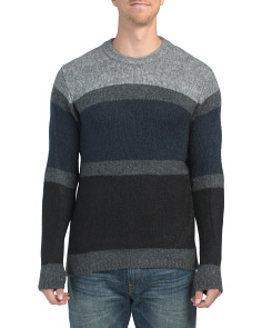 Supersoft Mohair Striped Sweater