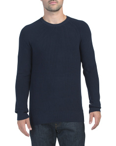 Winter Cotton Ribbed Sweater