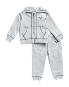 Infant Boys Hoodie And Jogger Set