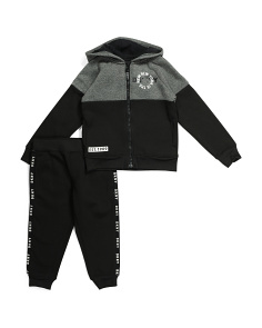 Little Boys 2pc Fleece Jogger Set