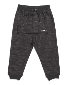 Little Boys Space Dye Fleece Joggers
