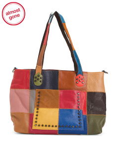 Cleo Leather Tote