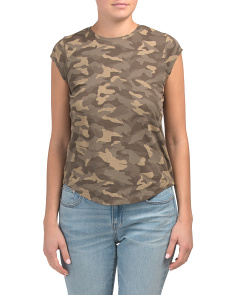 Dillon C Camo Pima Cotton Tee