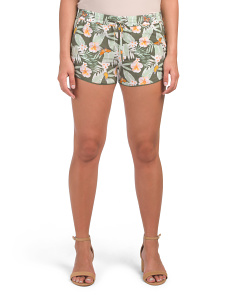 Sabia Tropical Silk Shorts
